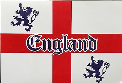 1 x Flag England St George 4 lion CRICKET World Cup Football  3FT 2FT English