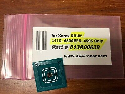 "1 x ""013R00639"" DRUM Chip for Xerox 4110, 4590EPS, 4595 Refill - ONLY !!!!!"