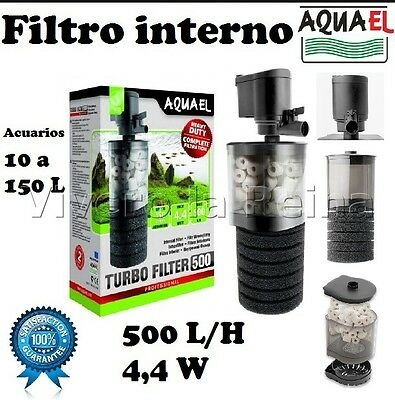 Filter Internal Turbo Filter 500 L/h Aquarium