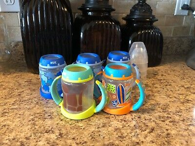 BABY TODDLER LEARNER CUP NUK│BPA-free Sippy Cup Trainer Cup w/Soft Spout│5 Ounce
