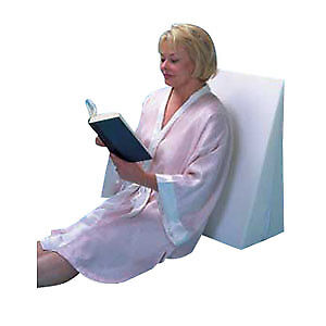 "Cover for Bed Wedge Pillow, 24"" x 24"" x 7-1/2"", White Part No. FW4070CVR Qty  Pe"