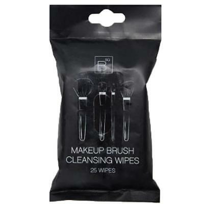 BSQ pack of 25 makeup brush cleansing wipes cleaner MUA Professional