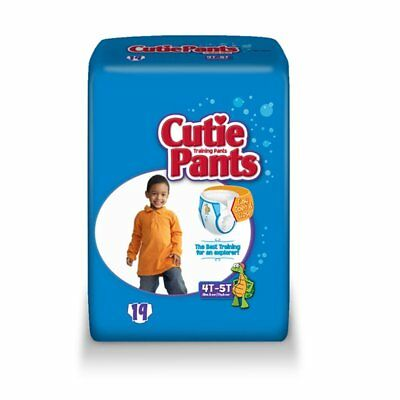 Cuties Refastenable Training Pants for Boys 4T-5T, up to 38+ Part No. CR9007 Qty