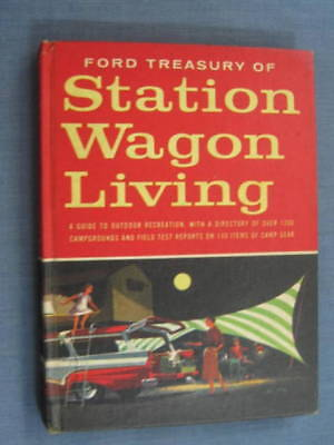 Ford Station Wagon Camp Living Book 1957