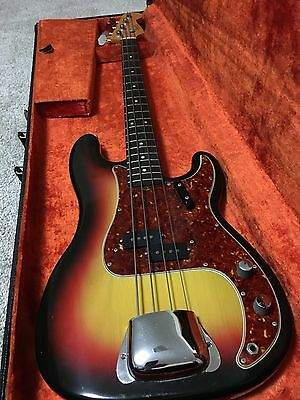 Vintage Precision Electric Bass Guitar- early 1966. Great condition!