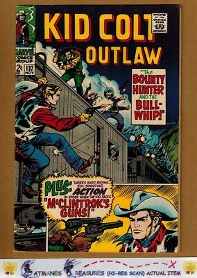 Kid Colt Outlaw #137 (8.0-8.5) VF+ 1967 Silver Age Key Issue
