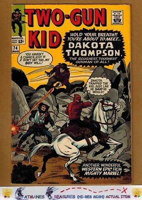 Two-Gun Kid #74 (9.2-9.4) NM By Jack Kirby 1965 Silver Age Key Issue