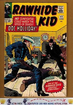 Rawhide Kid #46 (8.5) VF+ Cover By Jack Kirby 1965 Silver Age Key Issue
