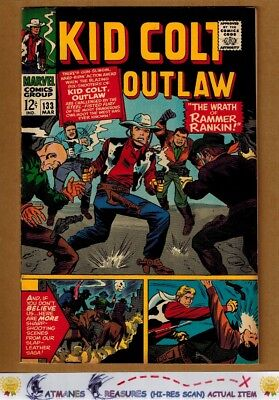 Kid Colt Outlaw #133 (9.0-9.2) NM- By Stan Lee 1967 Silver Age Key Issue