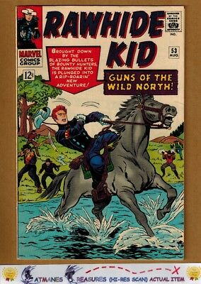 Rawhide Kid #53 (7.0) F/VF Cover By Stan Lee 1966 Silver Age Key Issue