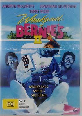 WEEKEND AT BERNIES 2 DVD=ANDREW McCARTHY=REGION 0 INC AUS=BRAND NEW & SEALED