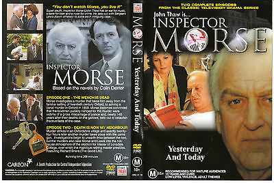 Inspector Morse-Yesterday And Today Dvd=2 Com. Episodes=Region 4=New & Sealed