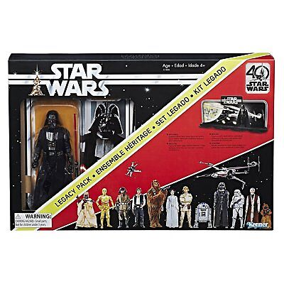 "NEW Star Wars The Black Series 40th Anniversary Legacy Pack - 6"" Darth Vader"