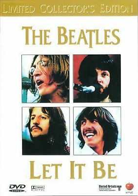 THE BEATLES-LET IT BE DVD=Ltd Coll.Edition=REGION 0 AUSTRALIA RELEASE=NEW/SEALED