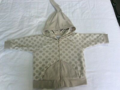 Nanny Pickle #3 EUC baby boy girl 12-18 mths 1 year hoodie jacket bamboo organic