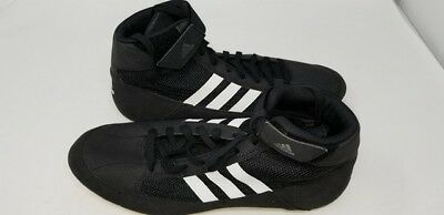 new products ca4fb 5148f Adidas HVC 2 ‑ Mens Wrestling Shoes AQ3325 Black Size 12 101H pa