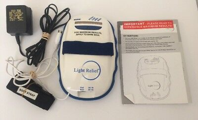 LIGHT RELIEF 90LR15LR01 Infrared PAIN THERAPY Muscle Joint Ache Natural