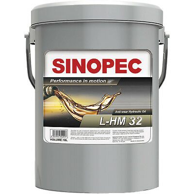 AW 32 Hydraulic Oil Fluid ISO VG 32 E 10W 5 Gallon Pail Hydrolytic Stable New