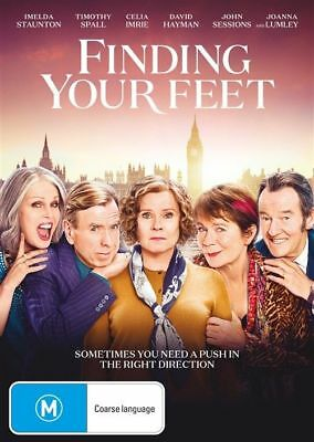 Finding Your Feet (DVD, 2018)   New & Sealed