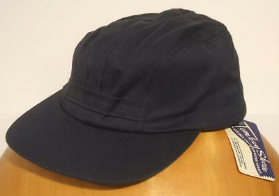 SHARP NEW OLD STOCK NWT VTG 1950s 60s TOMBOY RAYON SPORTSWEAR CAP HAT - Sz 7 1/4