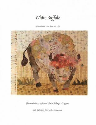 Laura Heine -White Buffalo Collage Pattern