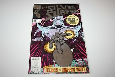 1990 Marvel comics #50 The Silver Surfer Second Printing