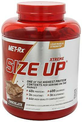 METRx Gainer Whey Protein Plus Powder Complete Protein Size UP 6 LBS EXP 1/19