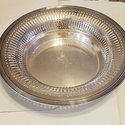 sterling silver bowll vintage 427 grms