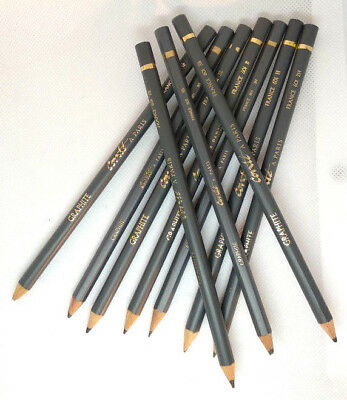 CONTE Graphite Pencils *Assorted Pencils 6B 5B 4B 3B 2B B HB H 2H 3H*