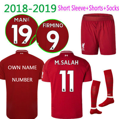 2018-19 Football Kits Soccer Jerseys Suits Training Wear For Kid 3-14YRS Adults