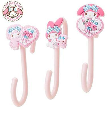 Cute My Melody 3x S Shaped Hooks Key Kitchen Towels Hanger Clothes Storage Rack
