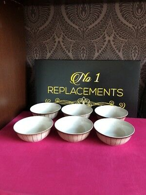 6 x Denby Studio / Saturn Cereal Bowls 15cm New Unsued 5 Sets Available