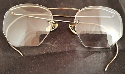 Vintage Gold Filled Wire Eye Glasses, Imperial??