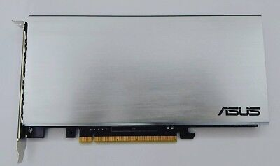 ASUS Hyper M.2 x16 Interface Card PCI Express 3.0 for ASUS X299 series