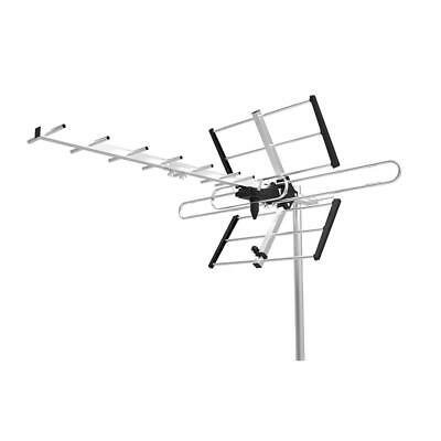 PrimeCables® Professional HDTV Fishbone Outdoor Antenna, Receiving range UHF VHF