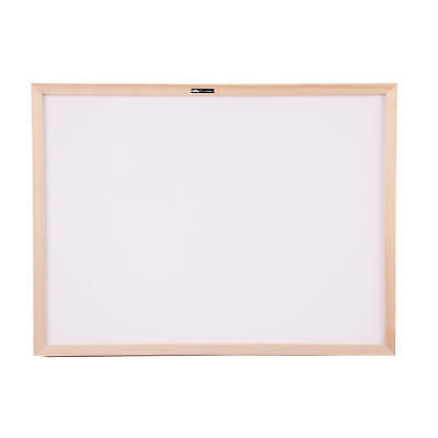 Moustache® Dry-Erase Wood Frame Non-Magnetic Whiteboard, 45 x 60 cm