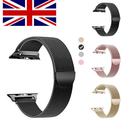 For Apple Watch Series 1/2 & 3 Luxury Loop Band Strap