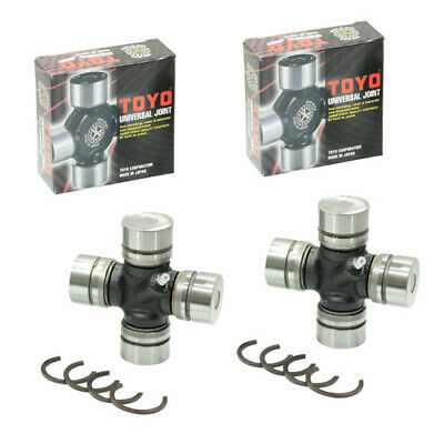 TWO REAR UNIVERSAL JOINT for TOYOTA LANDCRUISER HDJ78R HDJ79R HDJ80R HDJ100R