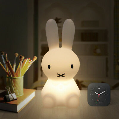 "Miffy Rabbit 11"" Tall USB Charging Baby LED Lamp for Kids Bedroom Home Decor"