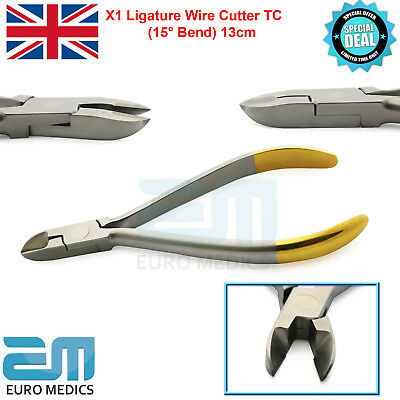 Micro ligature Pin And Wire Cutter Plier TC 15° Orthodontic Tool Ortho Forcep CE