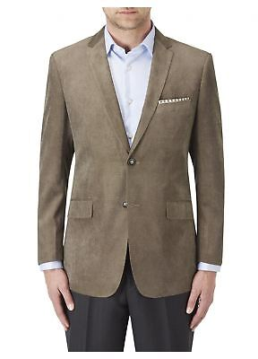 SKOPES Soft Touch Tailored Sports Jacket in Coffee,Chest Size 34 to 62 Inches