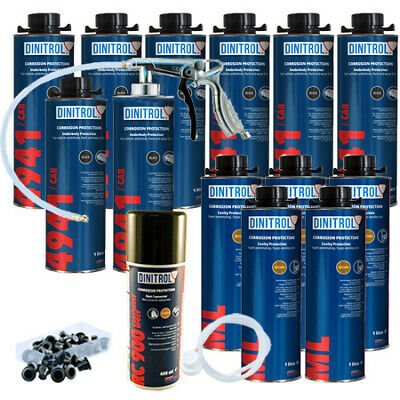 Dinitrol Rust Proofing Kit Litres Extra Large Motorhome Van