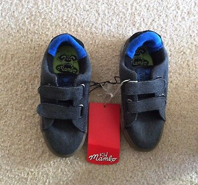 Mambo, Brand New With Tags, Rrp $29! Velcro Fastening Lettle Boys Shoes, Size 11