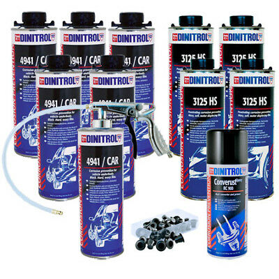 Dinitrol High Solids Rust Proofing Litres Kit For Large Car