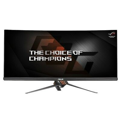 "ASUS ROG PG348Q 34"" Curved Gaming LCD  3440x1440 100Hz G-SYNC + CoD Black Ops 4"