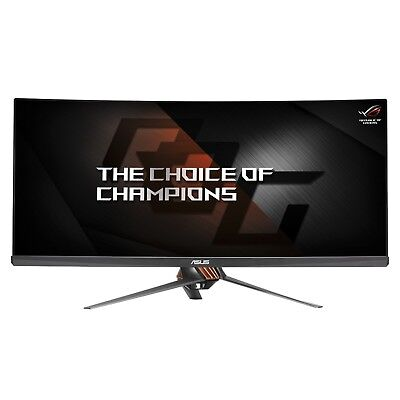 "ASUS ROG PG348Q 34"" Zoll IPS UHD Gaming LCD Curved 3440x1440 100Hz 4ms, G-SYNC"