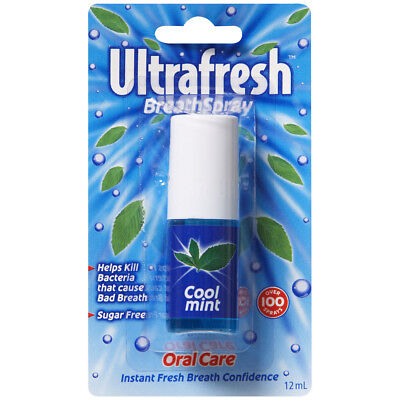Ultrafresh Breath Spray Coolmint 12ml