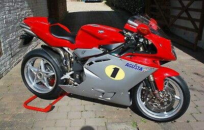 mv agusta f41000 745 miles from new !!!