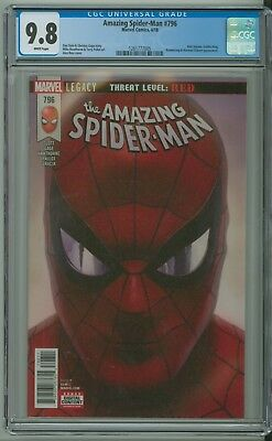 Amazing Spider-Man 796 CGC 9.8 Alex Ross Red Goblin King Slott Anti-Venom Marvel