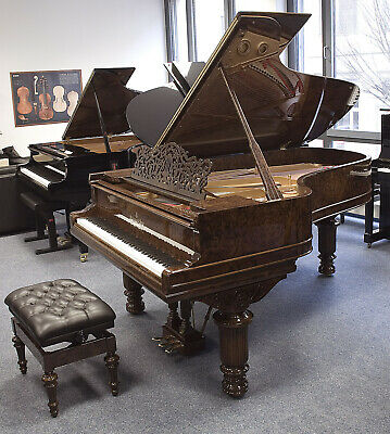 Steinway & Sons B 211 - Grand Piano, Burr Walnut, 5 Years Warranty